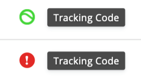 Button that reads Verify Installation located under the Tracking Code.