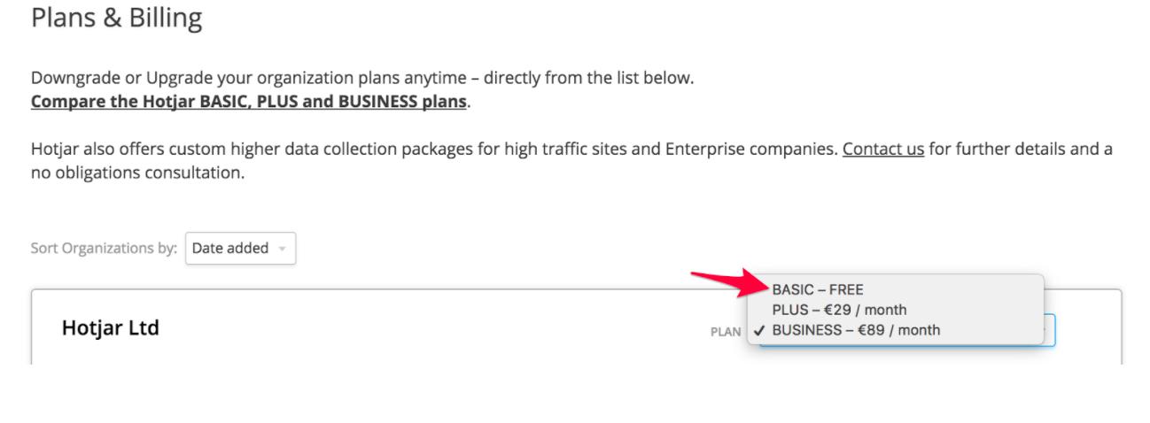 Image explaining how to transfer sites