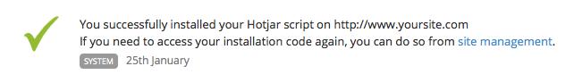 Hotjar Manual